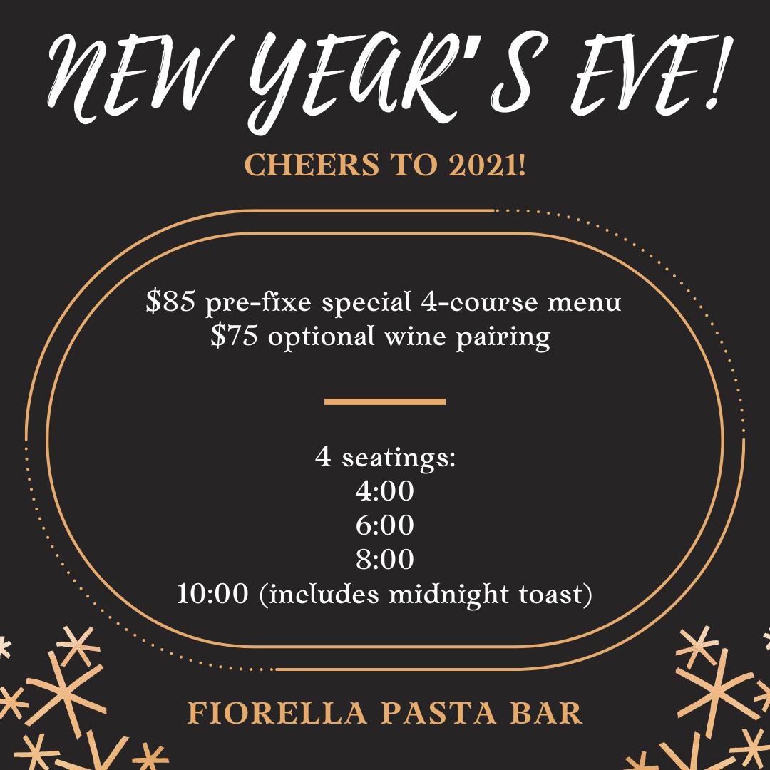 FIORELLA NEW YEAR'S EVE!