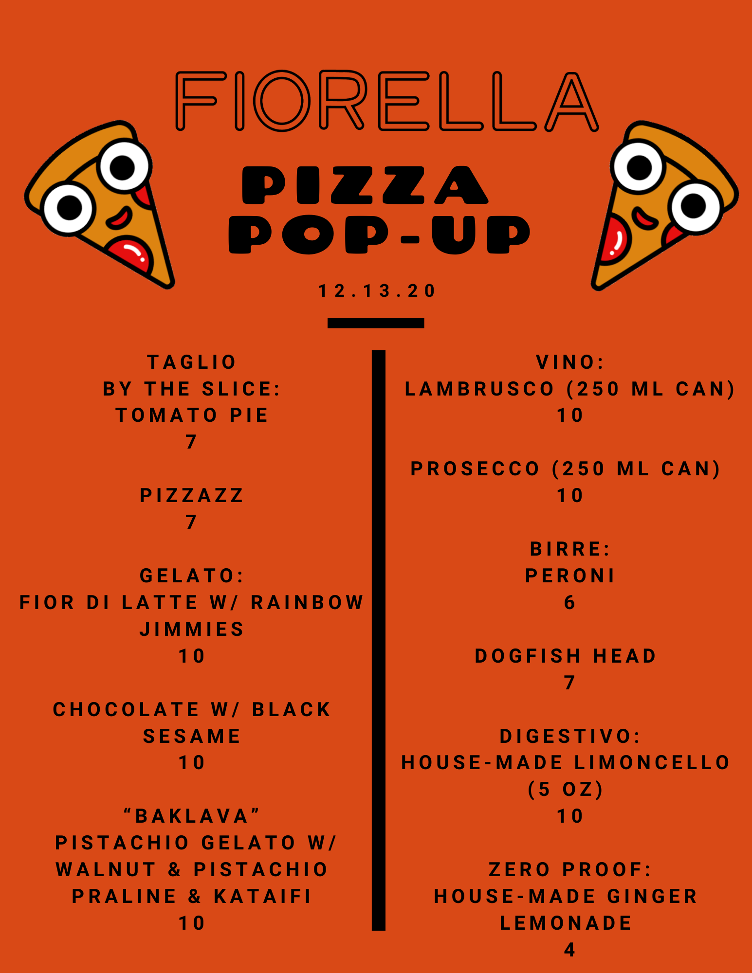 PIZZA POP-UP