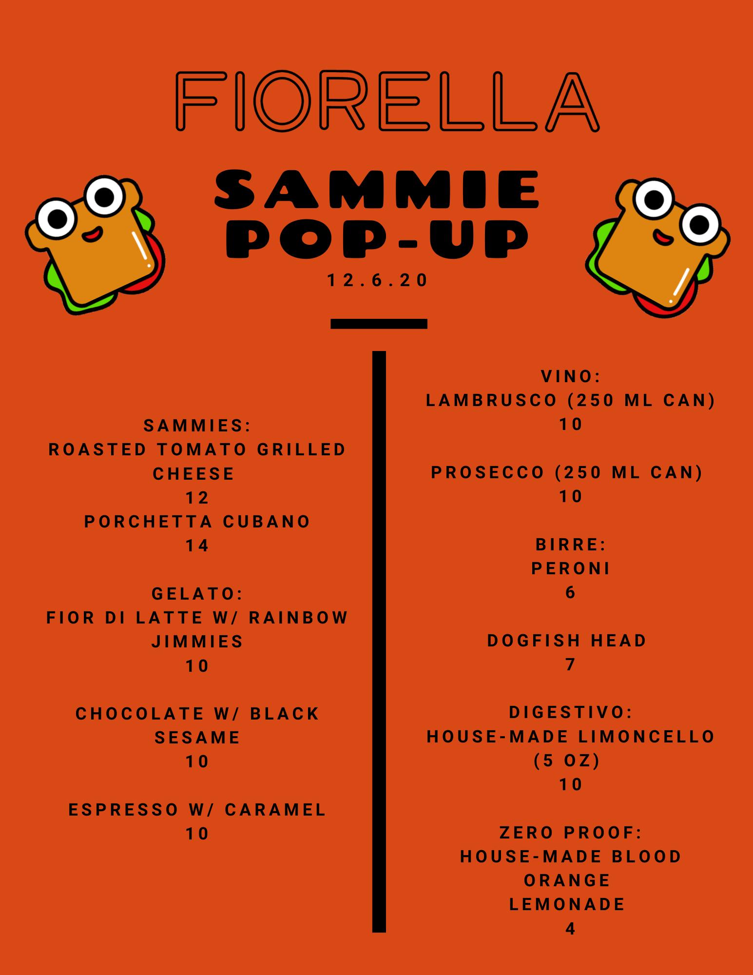 SAMMIE POP-UP